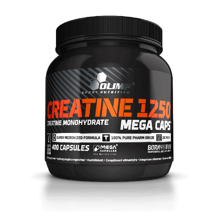 Creatine Mega Caps  400 kaps