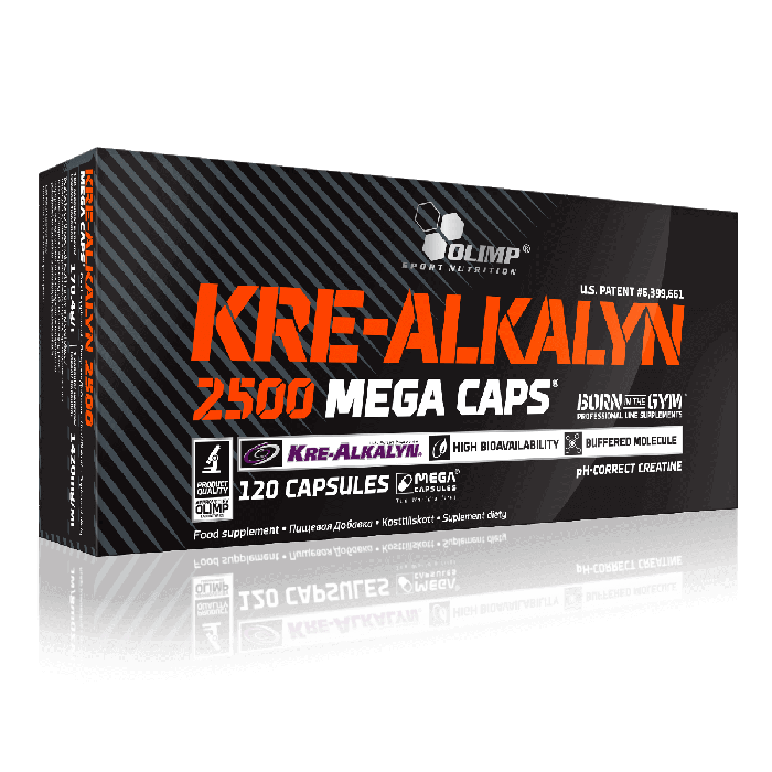 KRE-ALKALYN 2500 MEGA CAPS - 120 caps