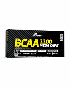 BCAA 1100 Mega Caps - 120 gélules - Olimp Laboratories
