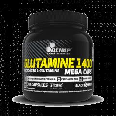 GLUTAMINE 1400 MEGA CAPS - 300 cápsulas - Olimp Laboratories