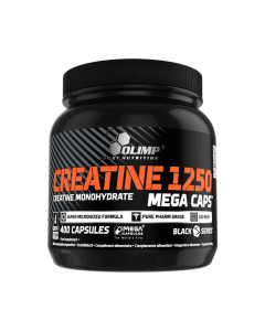 Creatine 1250 Mega Caps - 400 cápsulas - Olimp Laboratories
