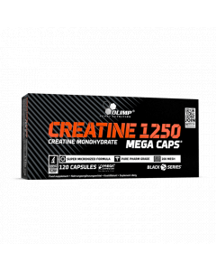 Creatine 1250 Mega Caps - 120 Capsules - Olimp Laboratories