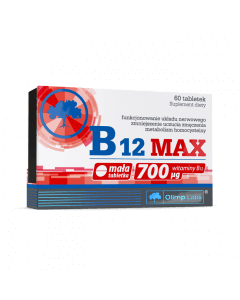 B12 MAX - 60 tabletek - Olimp Laboratories