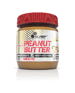 PREMIUM PEANUT BUTTER SMOOTH 350g - Olimp Laboratories