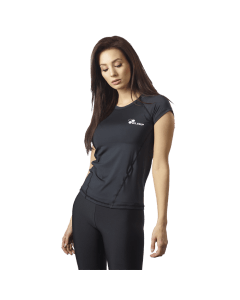 Damska koszulka treningowa OLIMP - WOMEN'S T-SHIRT CORE BLACK - Olimp Laboratories
