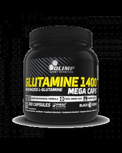 GLUTAMINE 1400 MEGA CAPS - 300 kapsułek - Olimp Laboratories