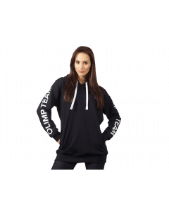 Bluza damska z kapturem OLIMP TEAM - WOMENS HOODIE OVERSIZE BLACK - Olimp Laboratories