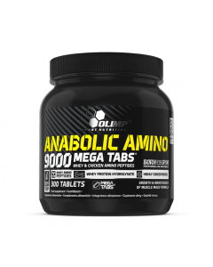 Anabolic Amino 9000 Mega Tabs - 300 tabletek - Olimp Laboratories