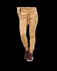 Spodnie dresowe damskie QUEENS GANG - WOMEN'S PANTS WARM SAND - Olimp Laboratories