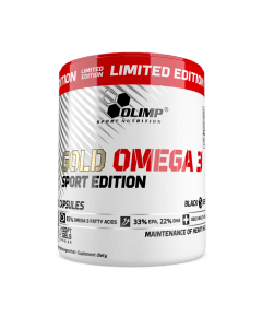 Gold Omega 3 Sport Edition Limited Edition - 200 kapsułek - Olimp Laboratories