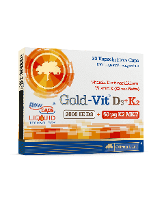 Gold-Vit D3+K2 2000 - 30 Kapseln - Olimp Laboratories