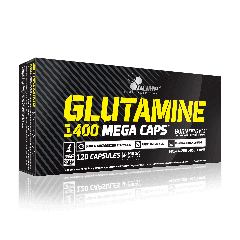 GLUTAMINE 1400 MEGA CAPS - 120 cápsulas - Olimp Laboratories
