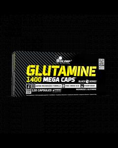 GLUTAMINE 1400 MEGA CAPS - 120 kapsułek - Olimp Laboratories