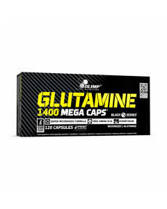 GLUTAMINE 1400 MEGA CAPS - 120 cápsulas - Olimp Laboratories
