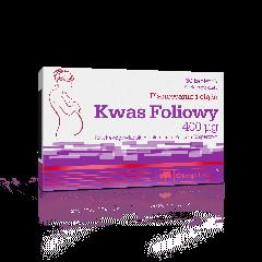 Kwas foliowy - 30 tabletek - Olimp Laboratories