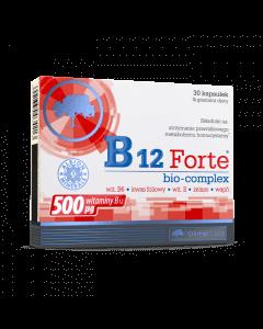 B12 FORTE BIO-COMPLEX - 30 kapsułek - Olimp Laboratories