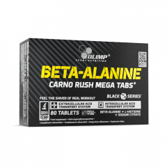 BETA-ALANINE CARNO RUSH MEGA TABS - 80 comprimés - Olimp Laboratories