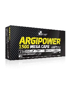 ARGI POWER 1500 Mega Caps - 120 Capsules - Olimp Laboratories