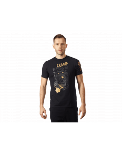 MEN'S T-SHIRT WILD BLACK & GOLD - Olimp Laboratories