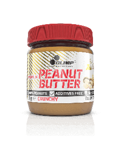 Premium Peanut Butter Crunchy - 350 g - Olimp Laboratories