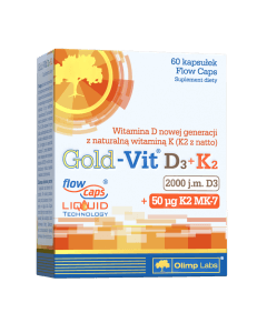 Gold-Vit D3+K2 - 60 kapsułek - Olimp Laboratories