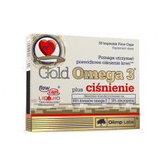 Gold Omega 3 plus ciśnienie - Olimp Laboratories