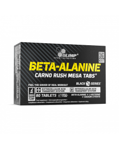 BETA-ALANINE CARNO RUSH MEGA TABS - 80 tabletek - Olimp Laboratories