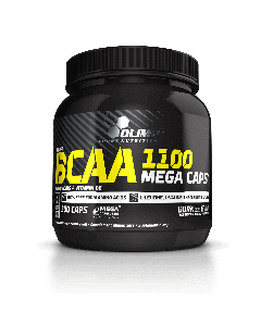 BCAA 1100 Mega Caps - 300 cápsulas - Olimp Laboratories