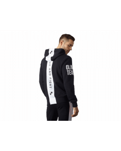 UNISEX HOODIE BLACK & WHITE - Olimp Laboratories