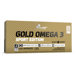 GOLD OMEGA 3 SPORT EDITION - 120 Capsules - Olimp Laboratories