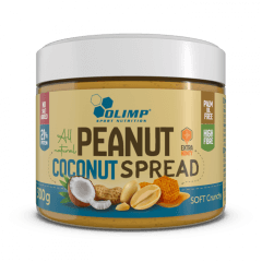 Olimp Peanut Coconut Spread - 300 g - Olimp Laboratories