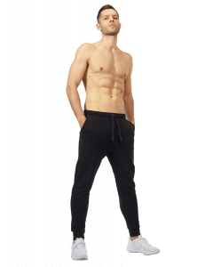 Męskie spodnie dresowe OLIMP BORN IN THE GYM - MEN'S PANTS BLACK SERIES - Olimp Laboratories