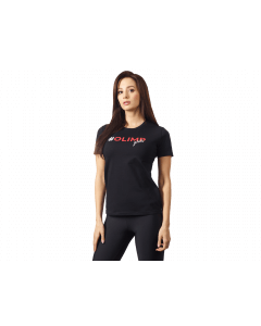 Damska koszulka treningowa OLIMP - WOMEN'S T SHIRT OLIMP GIRLS BLACK - Olimp Laboratories