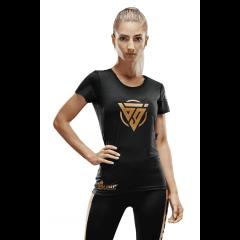 Damska koszulka treningowa Olimp - WMS BIG T-SHIRT BLACK - Olimp Laboratories