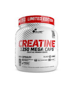 Creatine 1250 Mega Caps Limited Edition - 500 kapsułek - Olimp Laboratories