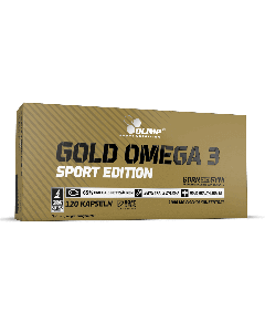 Gold Omega 3 Sport Edition - 120 Kapseln - Olimp Laboratories