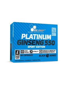 PLATINUM GINSENG 550 SPORT EDITION - 60 kapsułek - Olimp Laboratories