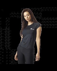 Damska Koszulka Treningowa Olimp - Women's T-shirt Core Black - Olimp Laboratories