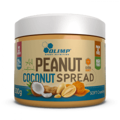 Olimp Peanut Coconut Spread - 300 g - Olimp Laboratories