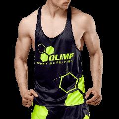 Men`s TANK TOP OLIMP CREW BLACK SERIES - Olimp Laboratories