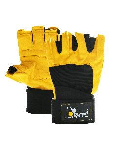 Training gloves - HARDCORE RAPTOR yellow - Olimp Laboratories