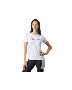 Damska koszulka OLIMP - WOMEN'S T SHIRT OLIMP GIRLS WHITE - Olimp Laboratories