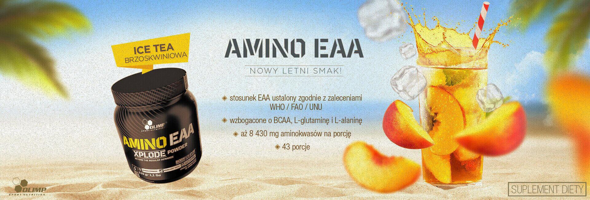Amino EAA ice teapeach