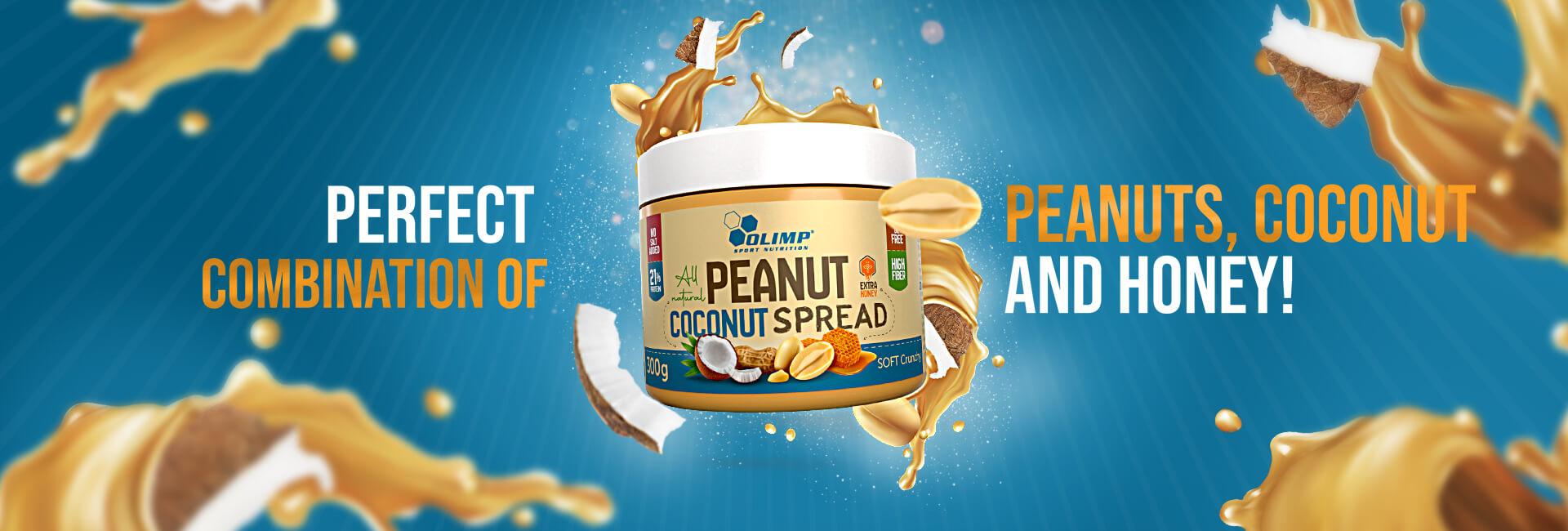 Olimp Peanut Coconut Spread