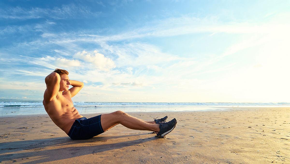 4 pomysły na trening na plaży