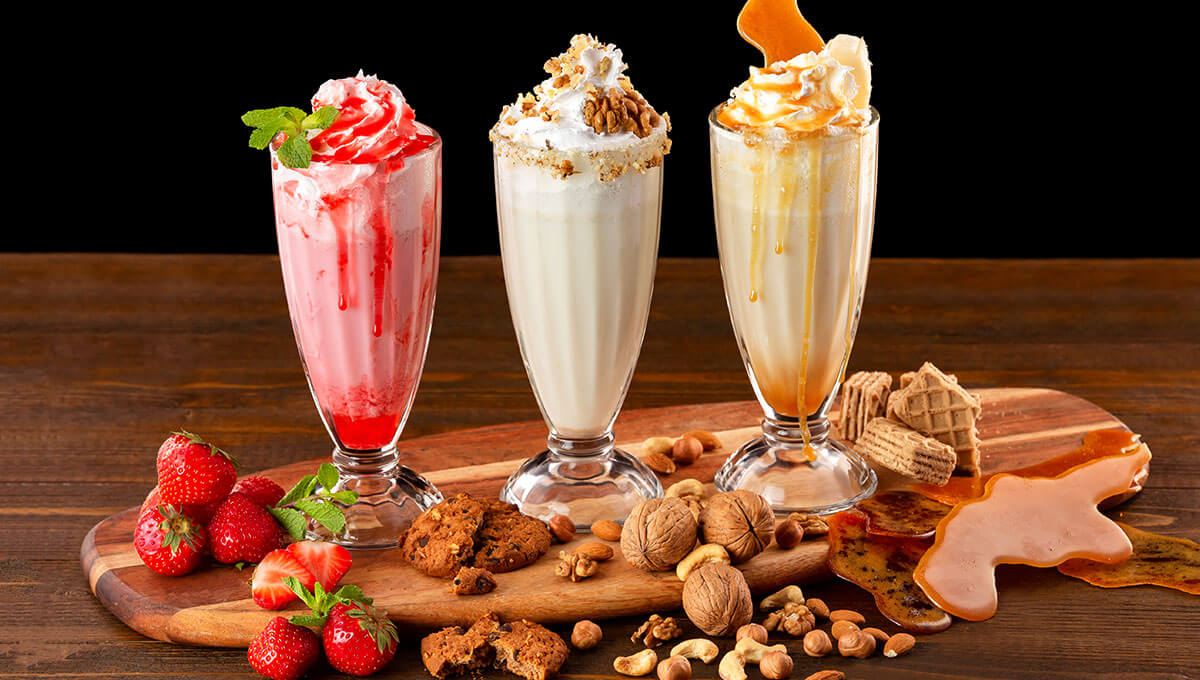 5 ideas  for shakes