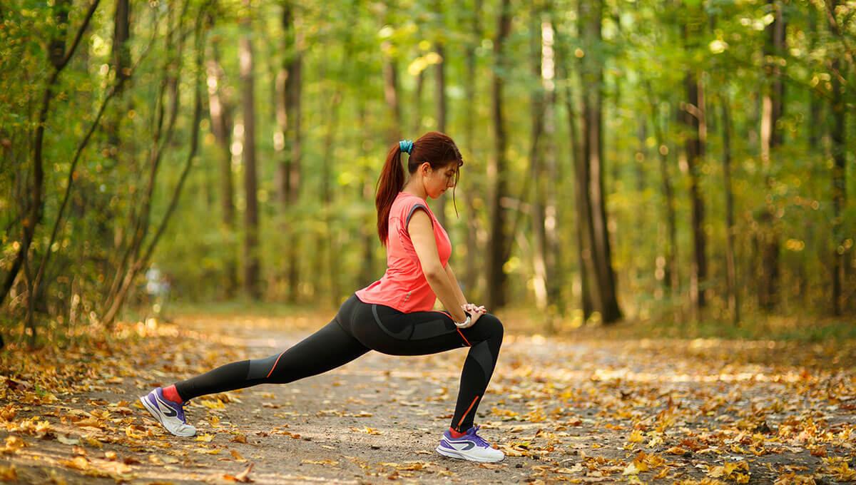 5 idées  pour s'entraîner en forêt