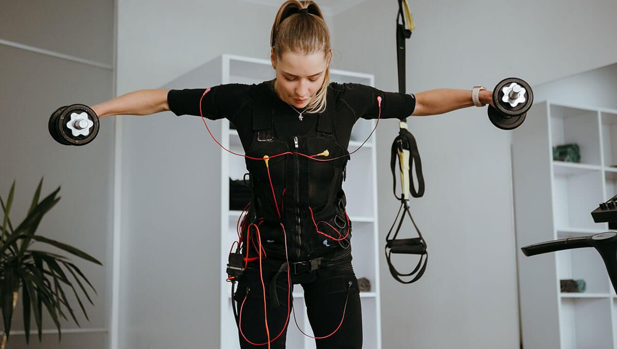 5 zalet  treningu EMS