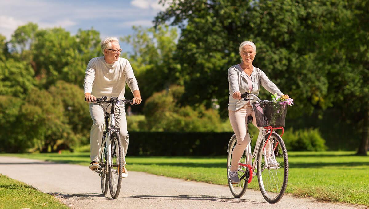 Körperliche Aktivität im Alter  - wie kann man sich darum kümmern?