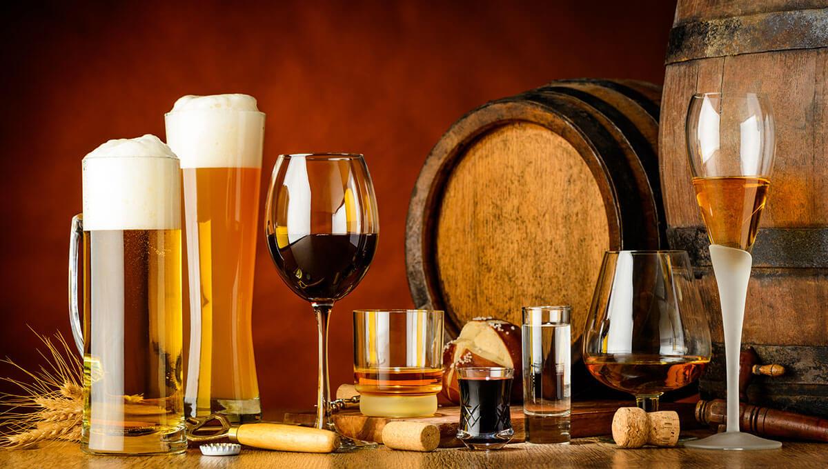 Alcool et régime alimentaire sain  - peut-on les combiner ?